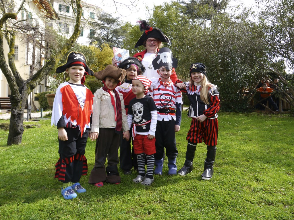 Pirates at The New School in Rome, March 2014